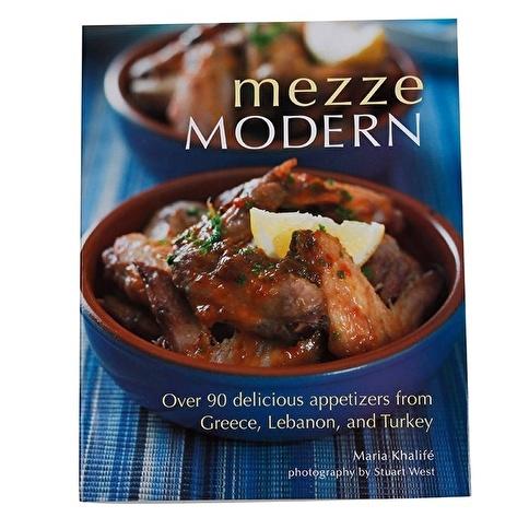 Garaj Kitap Mezze Modern: Over 90 Delicious Appetizers from Greece, Lebanon, and Turkey Renkli